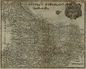 Netherlands Nederland Low Countries Belgium Flanders Holland 1694 Mosting map