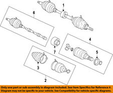 Scion TOYOTA OEM 08-15 xB Front Drive Axle-Assembly 4341012821