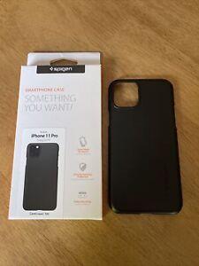 """Spigen Thin Fit Case Apple iPhone 11 Pro 5.8"""" - Black"""