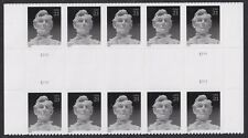 US 4860 Abraham Lincoln 21c horz gutter block (10 stamps) MNH 2014