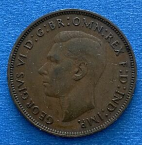 George V1  1948 One Penny (395)