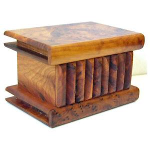 Moroccan thuya wood Magic Box