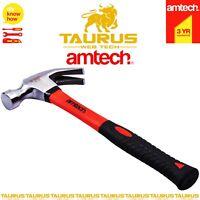 New 16Oz Claw Hammer Steel Shaft Rubber Non Slip Grip Nail Remover Diy Carpenter