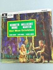 ⭐Our Man Crichton⭐ Kenneth Moore - Millicent Martin LP