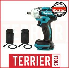 Makita DTW285 Impact Wrench (Body Only) + TWO Impact Scaffold Sockets