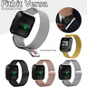New Replacement For Fitbit Versa Watch Band Wrist Stainless Steel Metal Strap