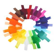 10x (20 Filtro de iluminación fotográfica Geles De Color Para/nikon/Oloong/Yongnuo M8Y0