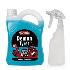 Carplan DEMON TYRES Wet Look Tire Shine Dressing Cleaner Polish + Spray Bottle