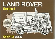 LAND ROVER (LANDROVER) SERIES 1 - 1000 PIECE JIGSAW PUZZLE ( 4x4 4WD ) Sealed