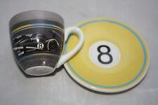 Original Bentley Motors, 24th Le Mans Espresso Set 65ml Tasse + 10cm  UT gelb