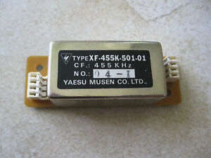 Yaesu YF-110C XF-110C (XF-455K-501-01) 500hz CW filter in Excellent shape