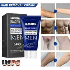 Hair Removal Cream Permanent & Skin Friendly & Fast & Effective For Men 60ml US