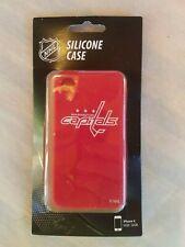 NHL Silicone Case Red Washington Capitals I Phone 4