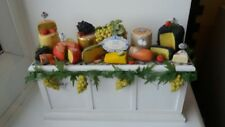 DOLLS HOUSE MINIATURES 1/12 VINTAGE HAND MADE DELI / CHEESE COUNTER
