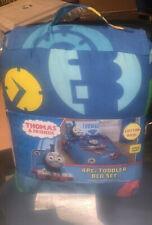 Thomas and Friends 4-Piece Toddler Size Kids Comforter Sheet Set Bedding Set