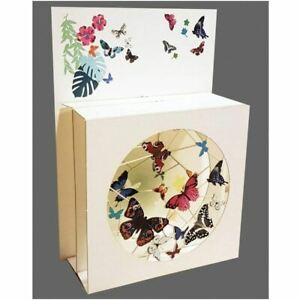 Forever Pop Up 3D Multi-layered Magic Box Card - Butterflies