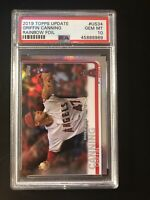 2019 TOPPS UPDATE #US34 GRIFFIN CANNING RC RD RAINBOW FOIL - PSA 10 - GEM MINT