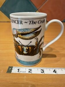 Dunoon Zodiac Cancer The Crab Mug Made In Scotland