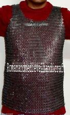 9MM VEST Medieval ChainMail Vest LARGE, Sleeveless Chainmail SHIRT, Chainmaille
