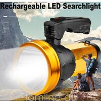 Torcia Led batteria potente fino a 800m Lampada Emergenza portatile ricaricabile