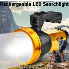 Rechargeable Searchlight LED Handheld Flashlight Torch Spot Light Camping Hiking