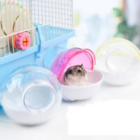 Hamster Mouse Pet Bathroom Cage Box Bath Sand Room Toy Toilet Small Pet SupplL!Y