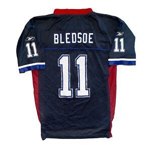 VERY RARE BUFFALO BILLS NFL #11 DREW BLEDSOE ORIGINAL SHIRT JERSEY / SIZE M