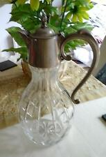 ART NOUVEAU CLARET JUG PEWTER TOP ABSOLUTLEY STUNNING -  THE BEST YOU HAVE  SEEN