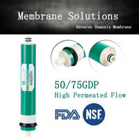 50 /75 GPD RO Reverse Osmosis Membrane Housing Water Filter System Replacement