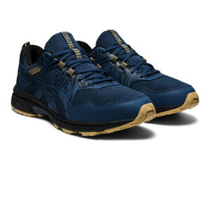 Asics Mens Gel-Venture 8 Trail Running Shoes Trainers Sneakers Gold Navy