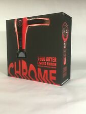 FHI Heat Red Chrome Hair Dryer Nano Lite Tourmaline Ceramic Pro 1900 NEW