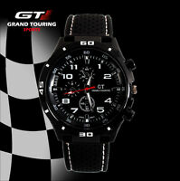 GT Men's Sport Watch Silicone Band Analog Quartz Fashion Casual Wrist Watches