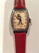 1947 -1948 Ingersoll US Time Mickey Mouse Watch