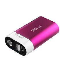PISNET USB Hand Warmer HOT-5200 Pink color / LED flashlight / Camping product /