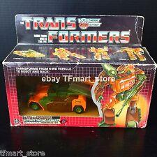 Original Vintage 1985 G1 Transformers Autobot Roadbuster Incomplete w/ Box