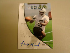 2004 SP Authentic # 185 Johnnie Morant Autograph Card Oakland Raiders box 8