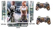 Final Fantasy 111 Skin Sticker for PS3 PlayStation 3 Slim and 2 controller skins