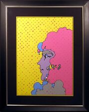 "Peter Max ""Polka Dots"" Hand Signed & Numbered Vintage Serigraph 1971 Make Offer!"