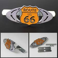3D Metal 66 Road Route 66 Racing Front Hood Grille Badge Emblem