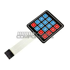 4x4 16 Key Matrix Membrane Keypad