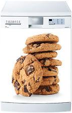 Sticker lave vaisselle déco cuisine électroménager Cookies réf 622 60x60cm