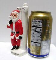 Vintage Santa Claus Figurine Souvenir Santas Workshop North Pole NY Made Japan