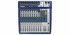 Soundcraft Signature 12 Small Format 12 Input Audio Mixer Ghost Mic Preamps