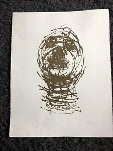 "OLIFFE RICHMOND 1919-77 Limited Ed LITHOGRAPH 32/250 ""Pilot"" Tate 1966 Curwen"