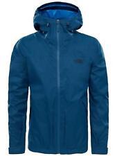 The North Face Waterproof Frost Peak Men's Outdoor Hooded Jacket Blue XXL