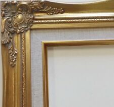 "3"" Gold Wood Antique Classic Picture Frame art gallery 637GL 20x24"