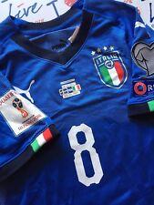 MAGLIA ITALIA -> 8 VERRATTI -> MATCH WORN PREPARATA VS SVEZIA 10.11.2017