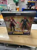 Wandavision Marvel Legends Scarlet Witch Vision Exclusive 2 pack Avengers MCU
