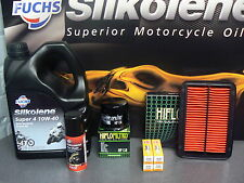 SUZUKI 600 BANDIT  SERVICE KIT 2000 to 2005  INCLUDING FREE CHAIN LUBE