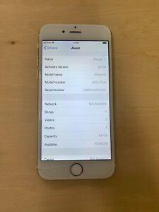 Apple iPhone 6 - 64GB - Gold (Unlocked) A1586